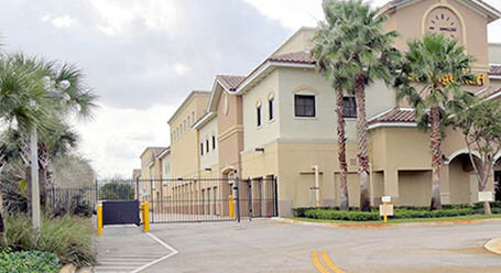 StorageMart on Southwest 16th avenue in Pembroke Pines Gated Access