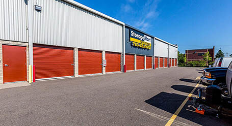 StorageMart on State Highway 169 Service Drive in North Plymouth Vehicle Parking