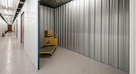 StorageMart on Stevenson Road in Brighton interior self storage unit