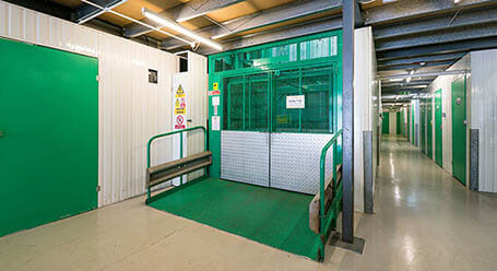 StorageMart on Stevenson Road in Kemptown freight lift
