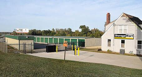 StorageMart on Stewart Road in Pleasant Valley Gated Access