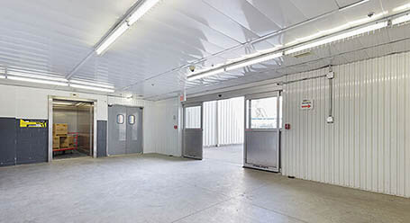 StorageMart on Todd Baylis Boulevard in York Loading Bay
