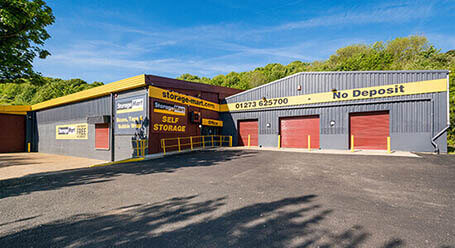 StorageMart in The Hyde Business Park in Bevendean storage rooms for rent