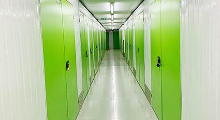 StorageMart on Vale Road in Tonbridge interior self storage units