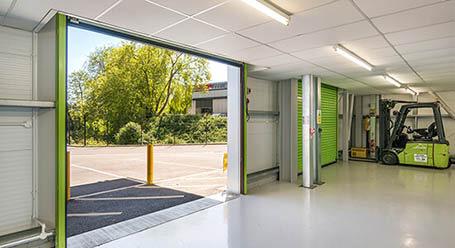StorageMart on Vale Road in Tonbridge Loading Bay