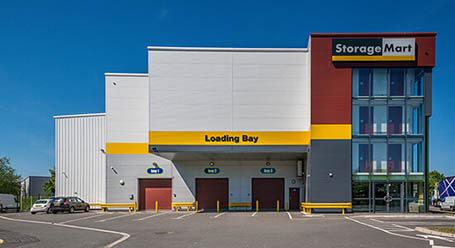 StorageMart on Vale Road in Tonbridge self storage