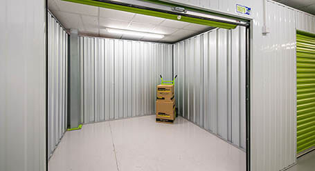 StorageMart on Vulcan Road in Norwich indoor storage units