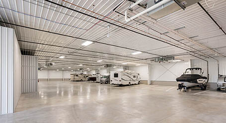 StorageMart on West 135th St in Overland Park Indoor Boat and RV Parking