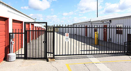 StorageMart on West 43rd Street in Shawnee Gated Access with Drive Up Units