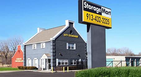 StorageMart on West 67th Street in Merriam Self Storage