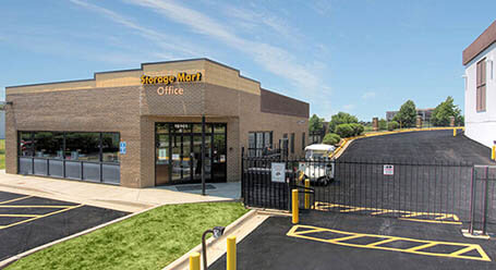 StorageMart on West 95th Street in Lenexa Gated Access
