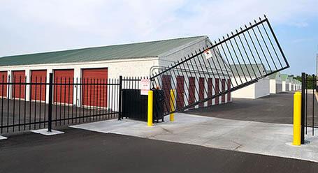 StorageMart on West Dennis Avenue in Olathe Gated Access