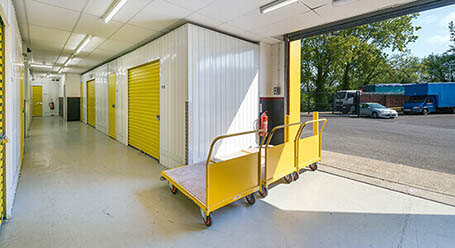 StorageMart on Willowbrook Road in Worthing self storage facility
