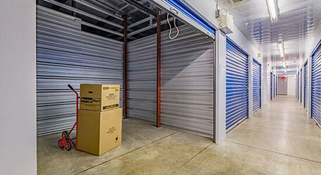 StorageMart on Wonderland Road in North London Interior Climate Control Units