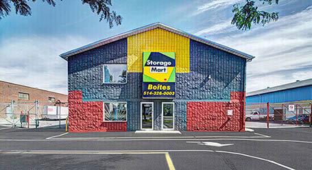 StorageMart sur Rue Pascal-Gagnon a St Leonard Entreposage