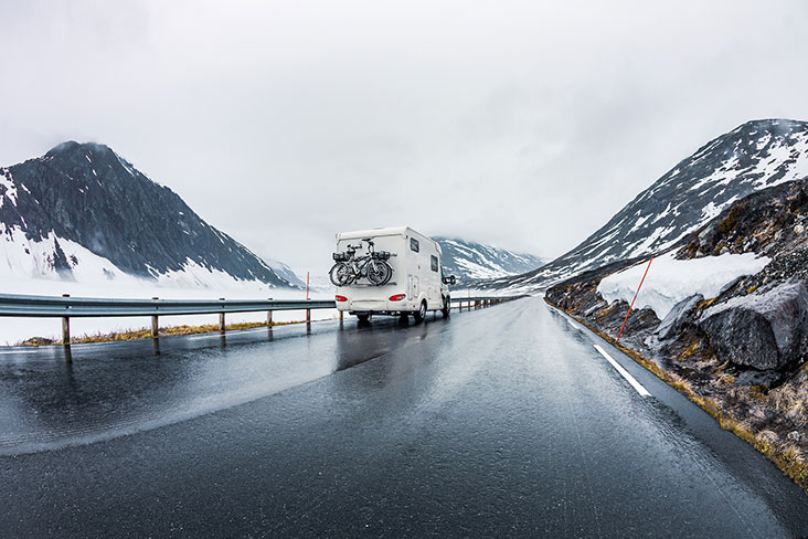 Get our best tips for storing your RV for winter