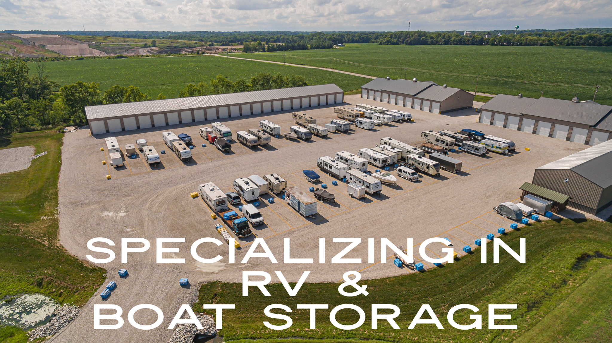 Specializing in RV and boat storage