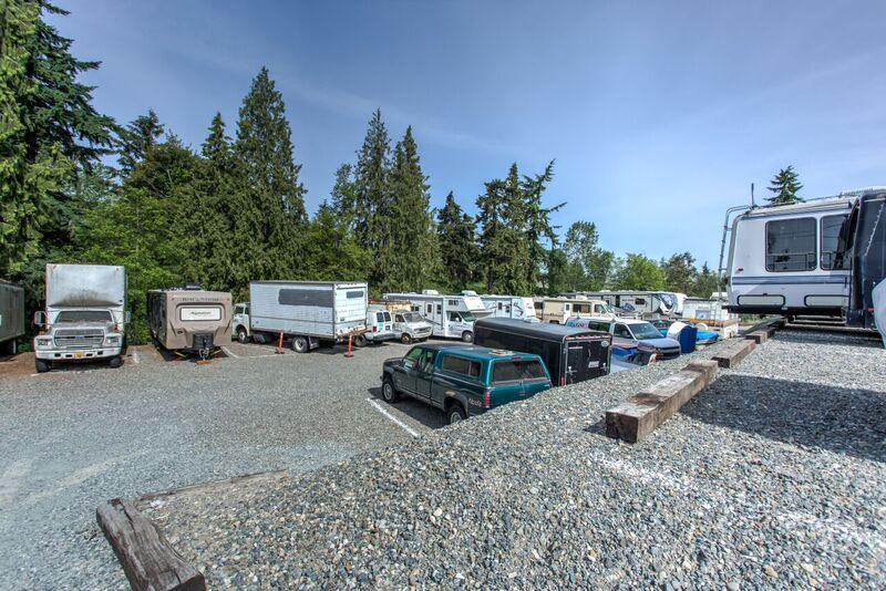 RV Parking Spaces in tacoma, wa