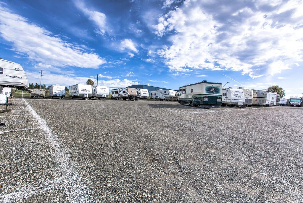 Orchard Street Self Storage RV Lot