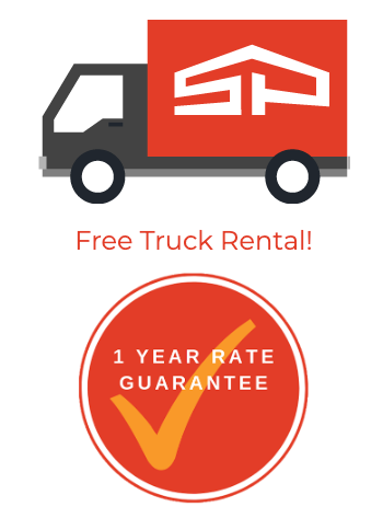We offer free truck rental at this location! Click for offer details.