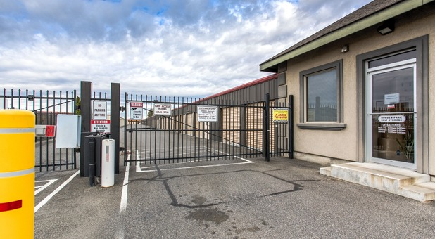 gated and fenced facility