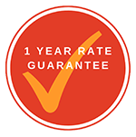 1 Year Rate Guarantee
