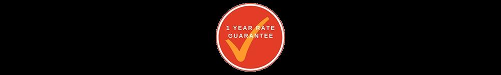 1 Year Guaranteed
