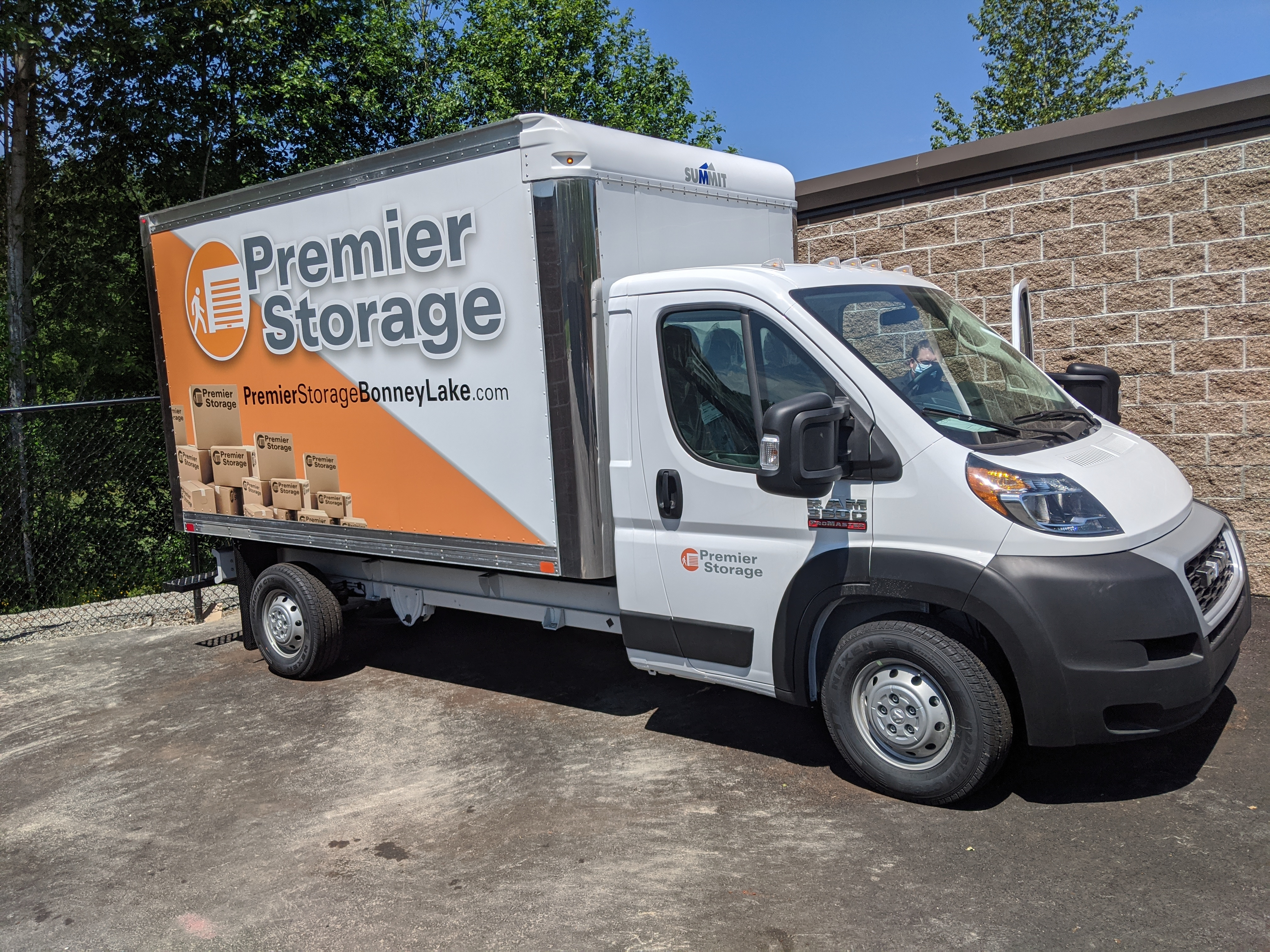 free truck rental with Move In
