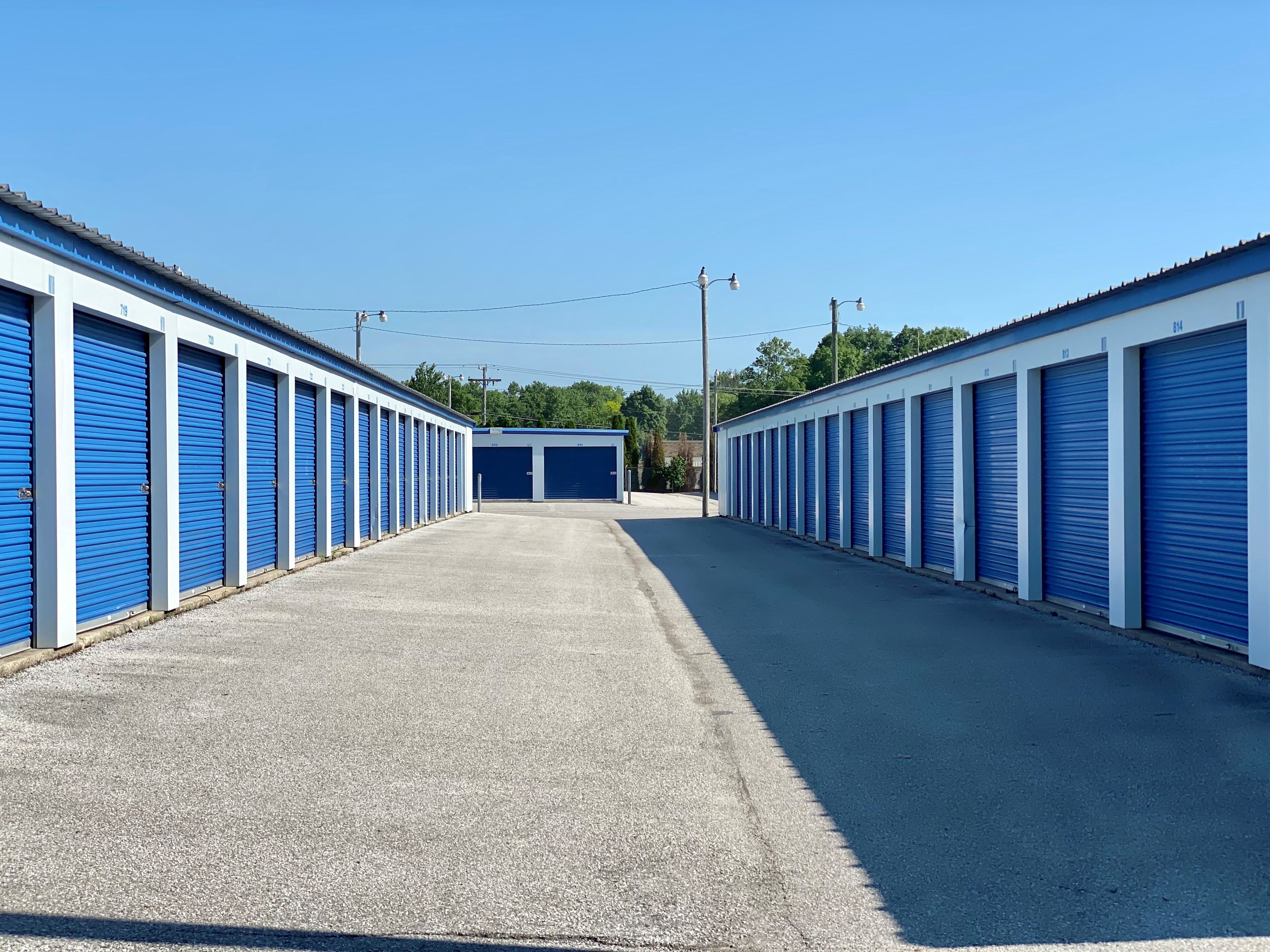 Conventional storage units in fort wayne