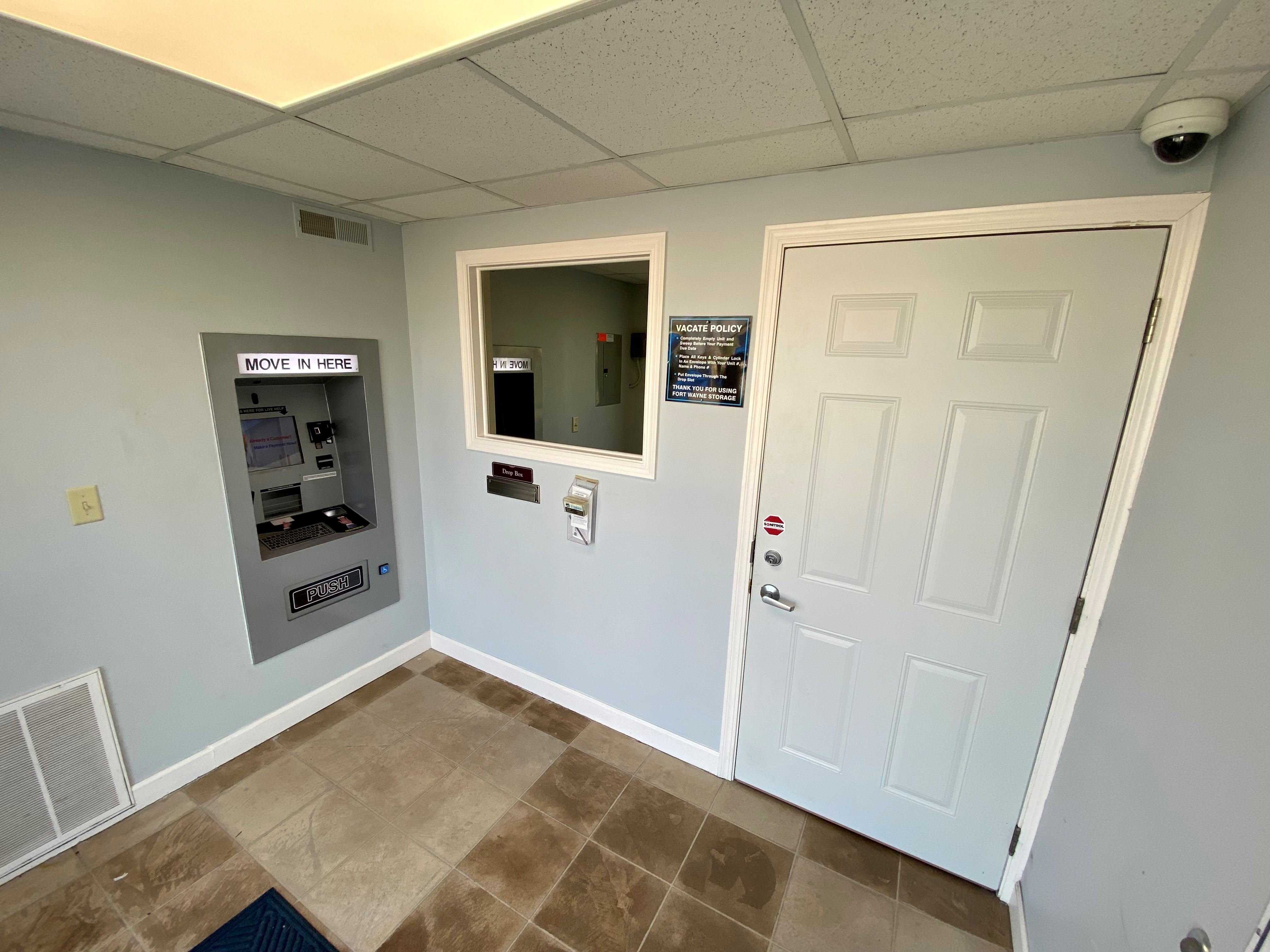 24-hour access kiosk for move ins