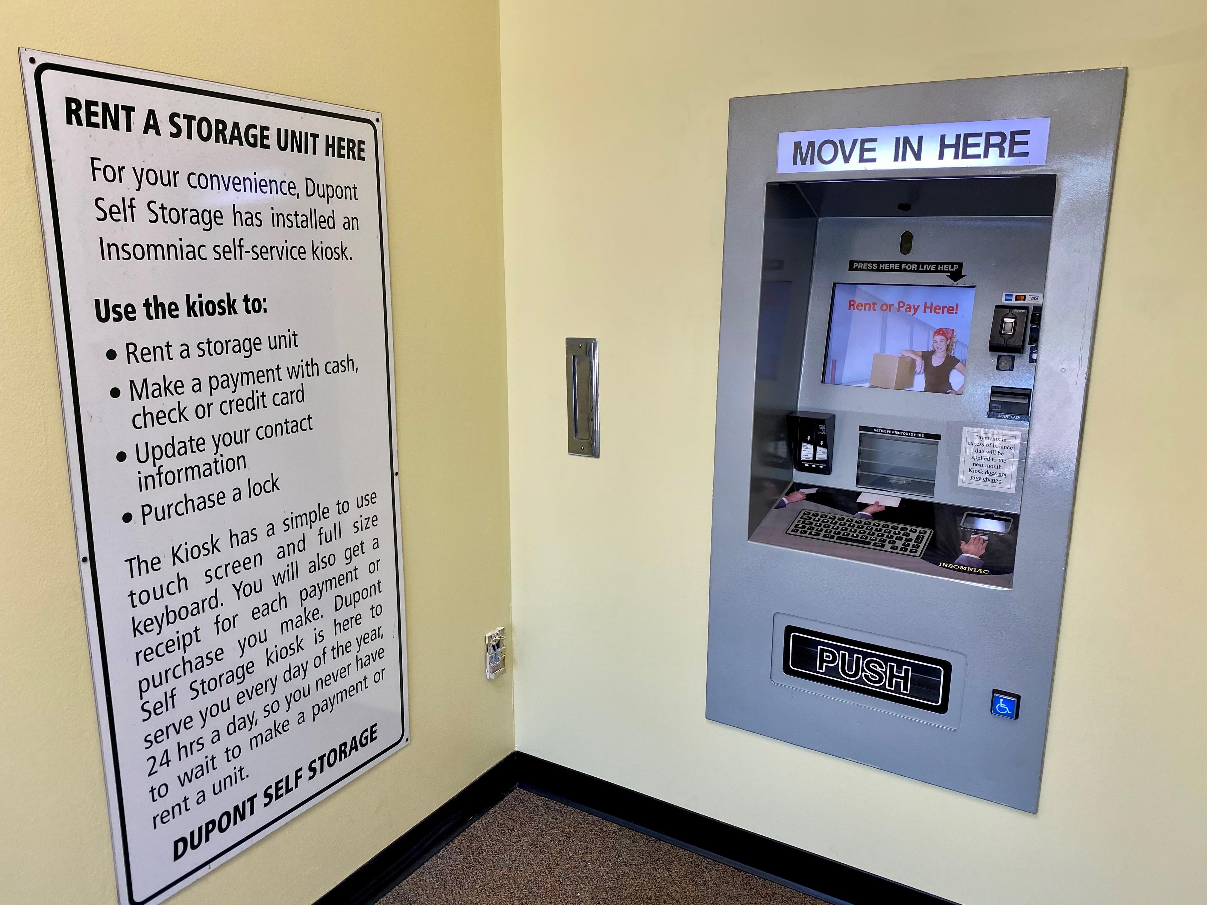 kiosk 24 hour access fort wayne