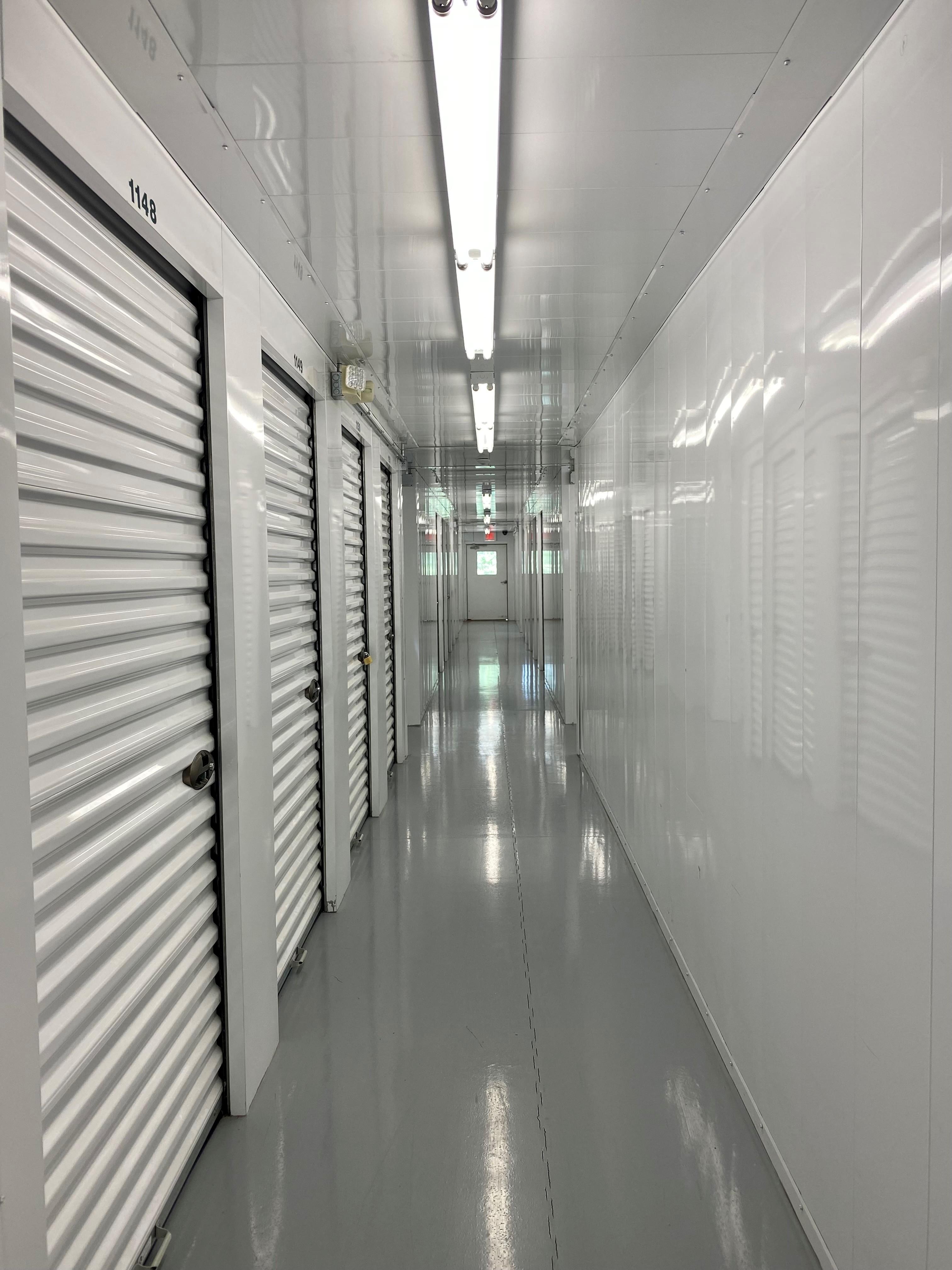 large interior storage units available