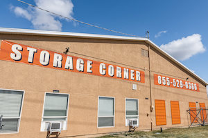 storage facility front