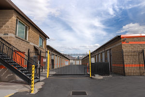 storage facility gate