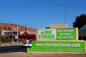 ABC Storage Sign