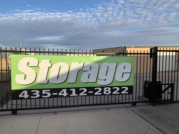 Safe Site Storage Gate