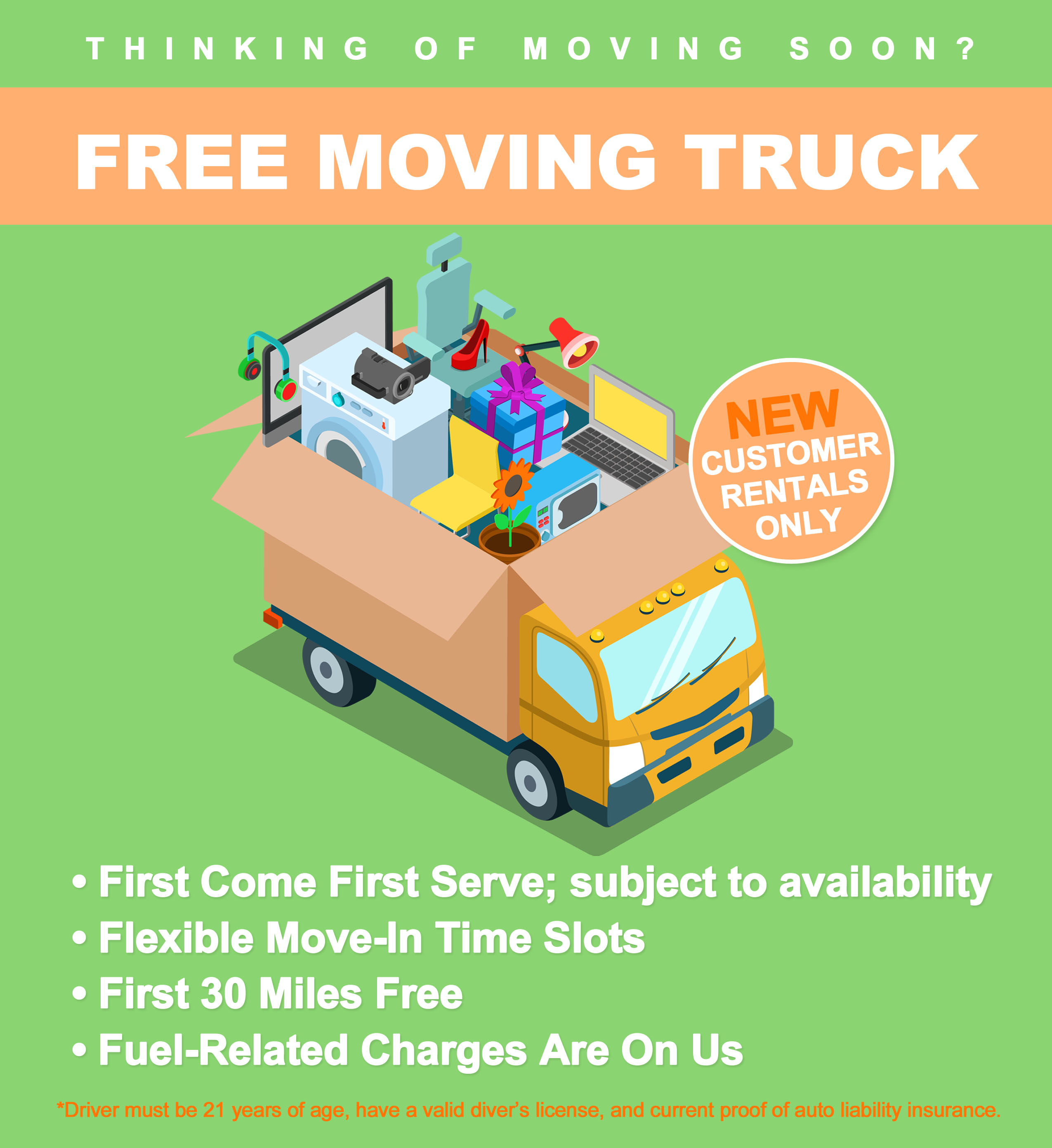 Free Moving Truck Information