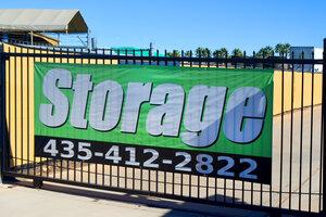 Self Storage Facility Gate