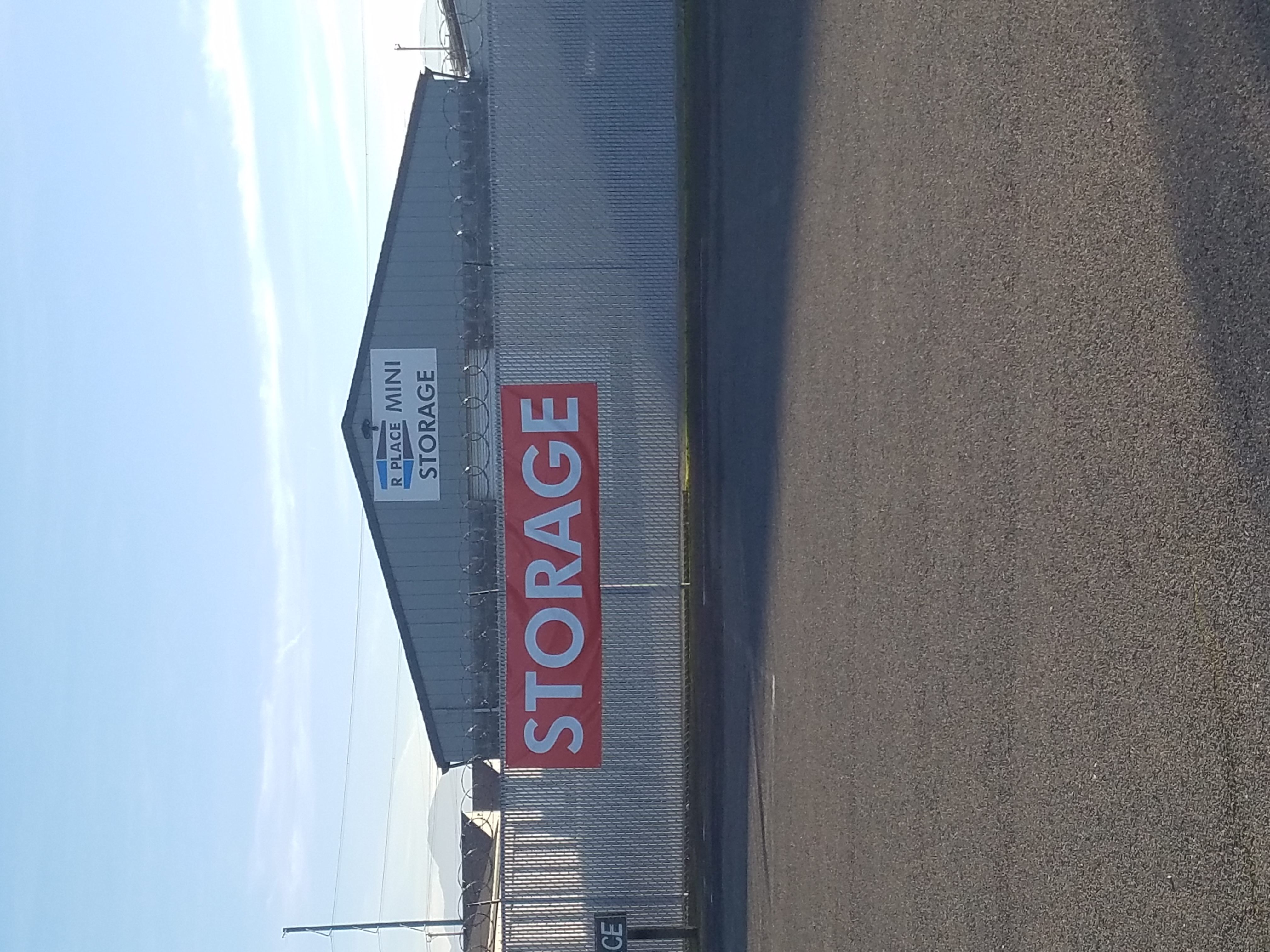 RP Red Store Sign