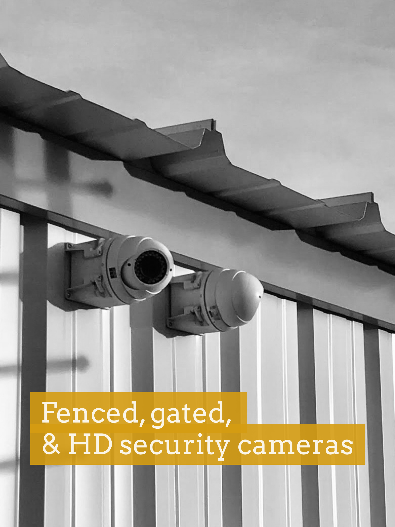 Prairie Self Storage - Cameras