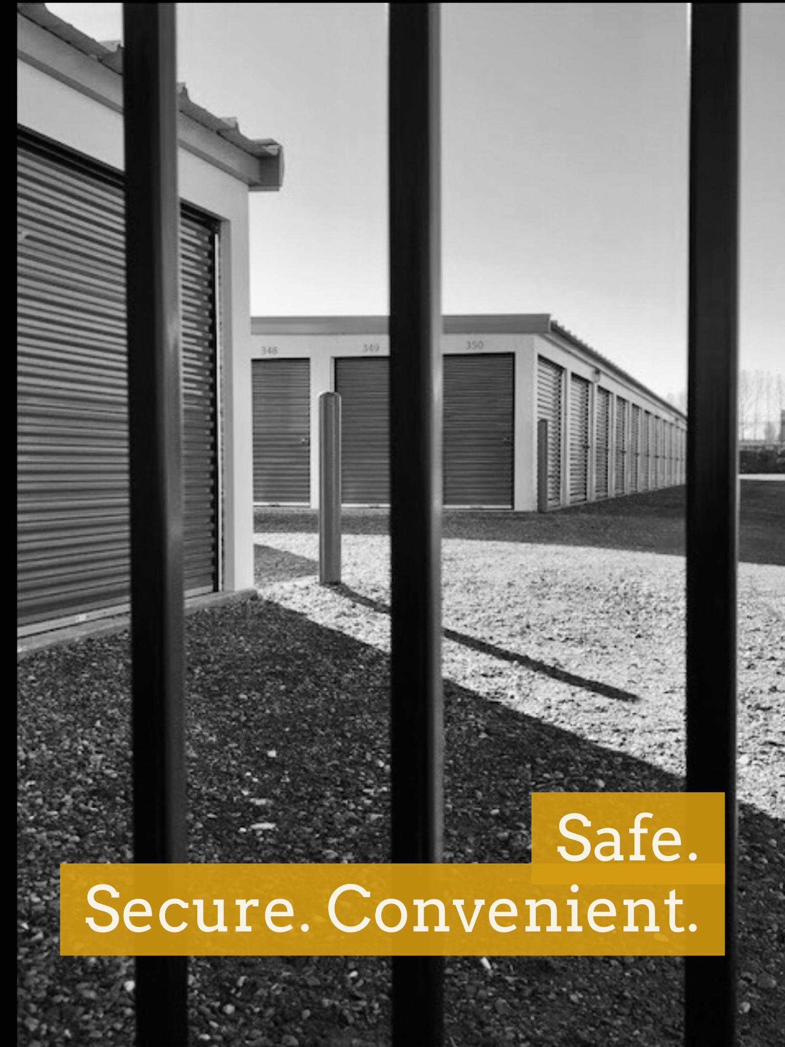 Prairie Self Storage - Fence