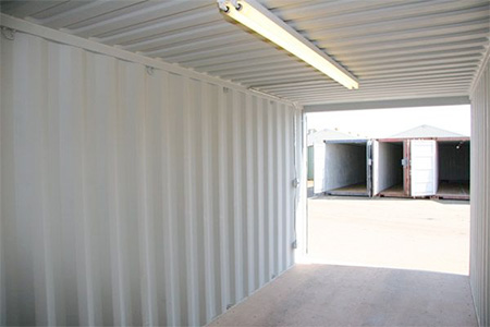 Powered Storage Containers