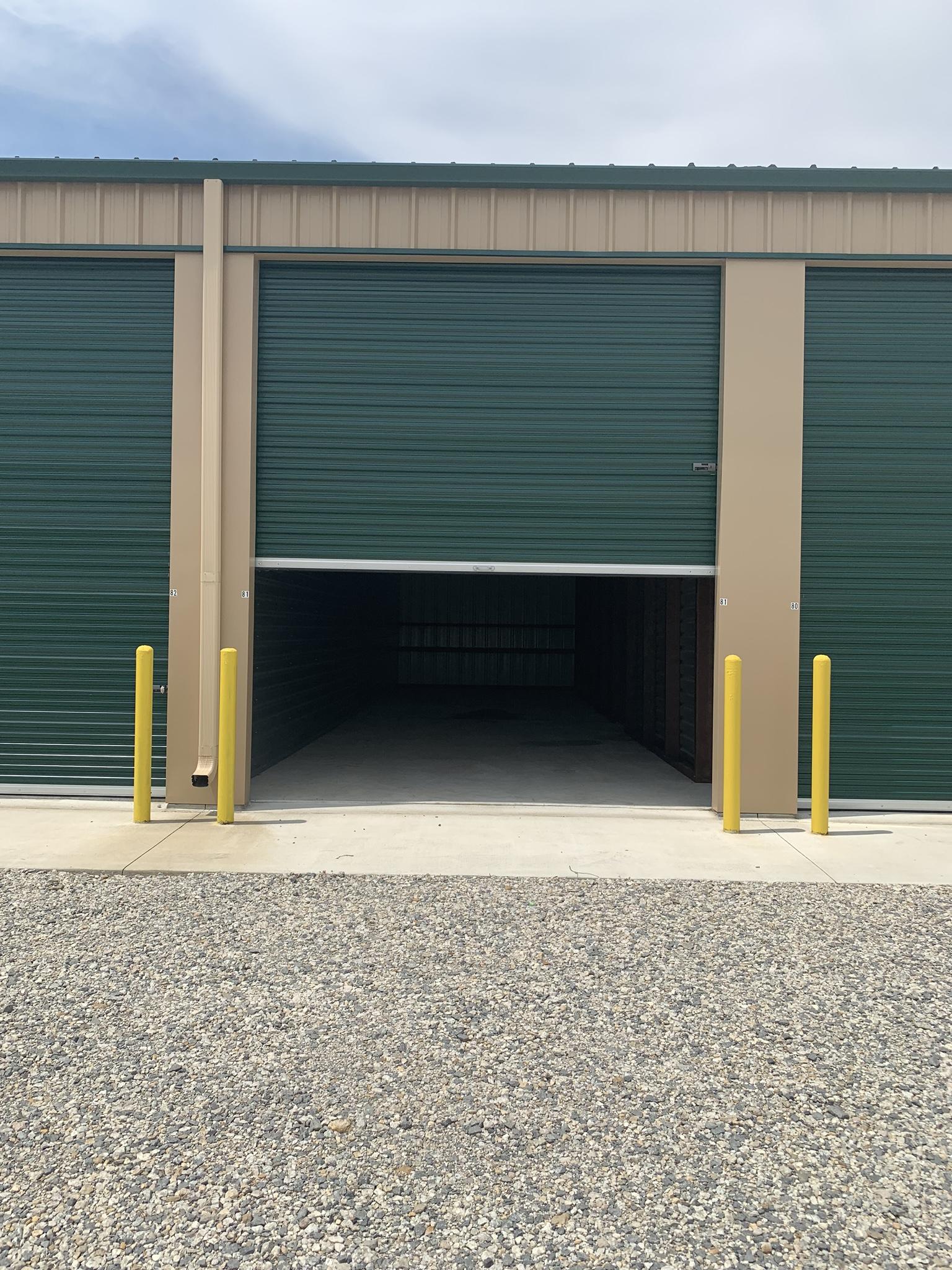 outdoor drive up storage roll up doors Topeka, KS