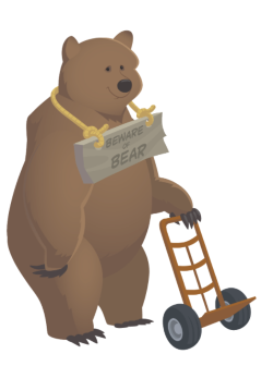 moving supply bear