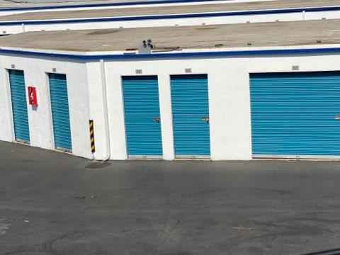 Line of Storage Units Oceanside, CA