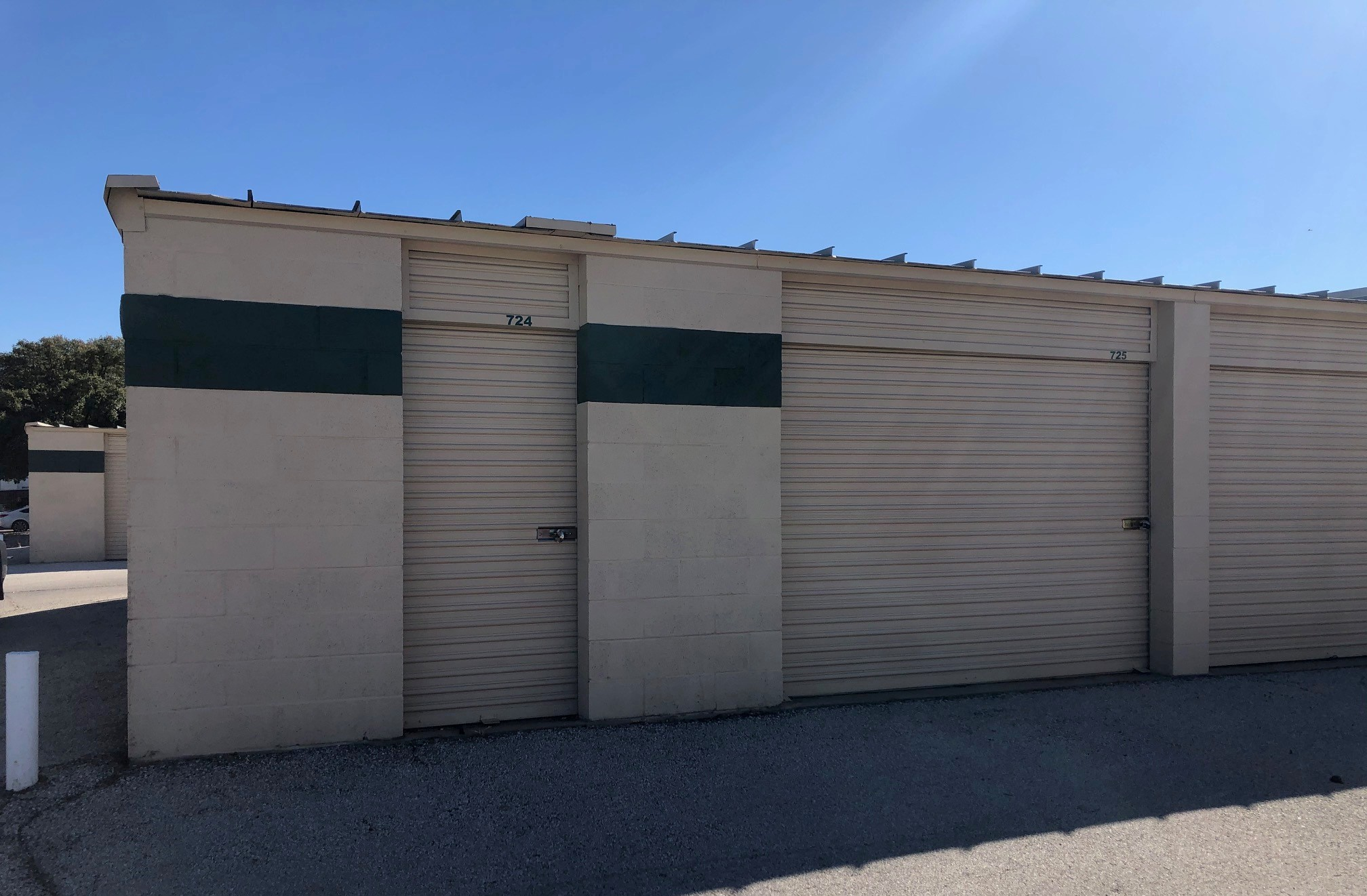 Drive up storage units in San Angelo, TX