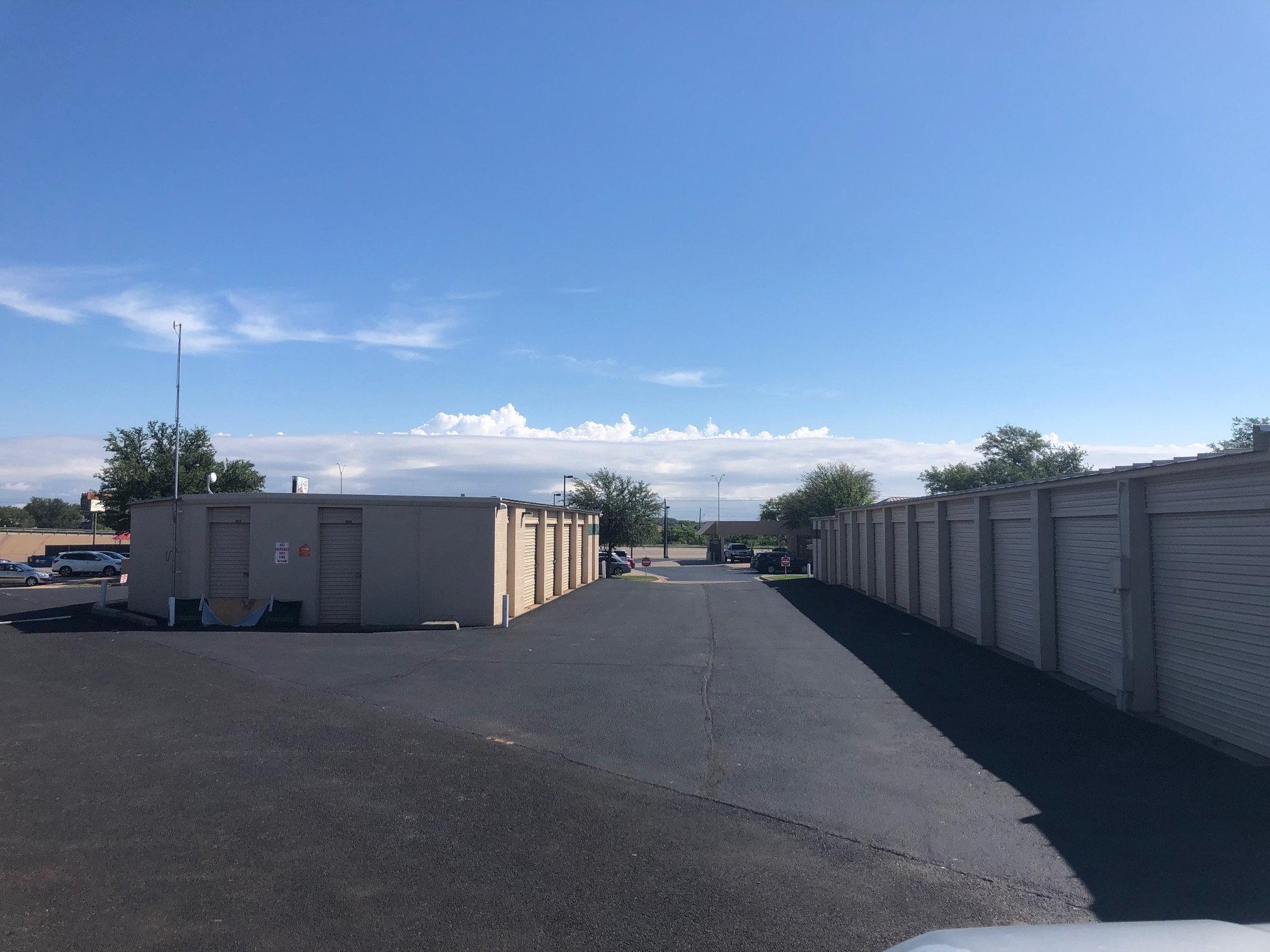 Variety of drive up unit sizes in San Angelo, TX