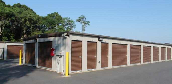 storage building exterior in Albany, GA