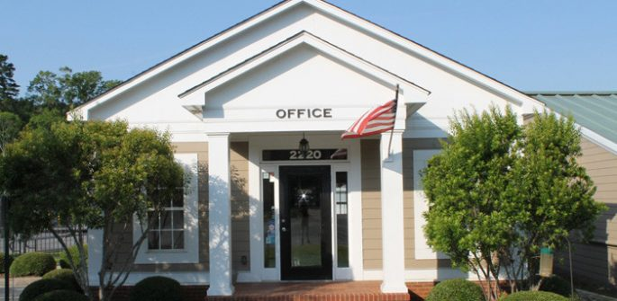 exterior of office building in Albany, GA