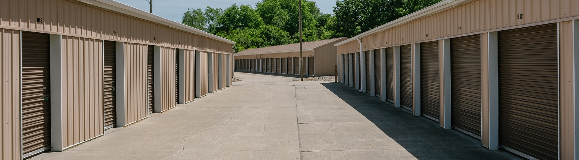 Safe and Secure Storage units on county road 4